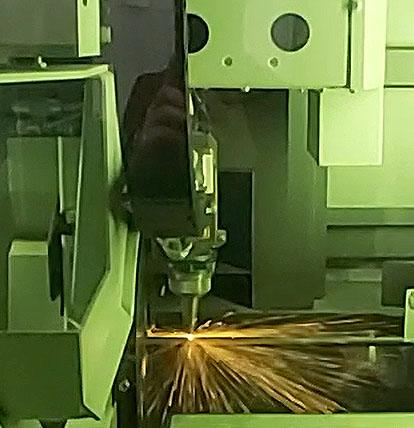 Taglio laser espositore